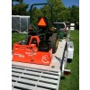 rotary tiller on trailer